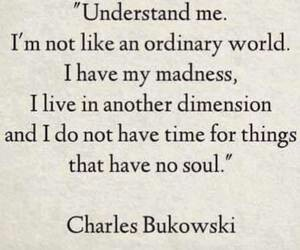 Bukowski, charles, and madness image