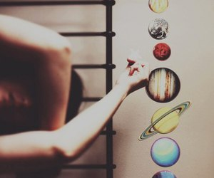 planet, hipster, and grunge image