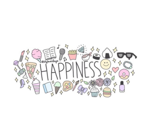 happiness and overlay image