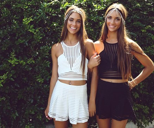 fashion, summer, and best friends image