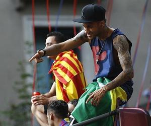 neymar, fc barcelona, and neymar jr image