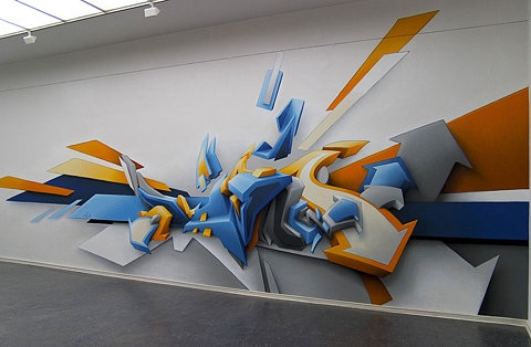 3d, art, and graffiti image