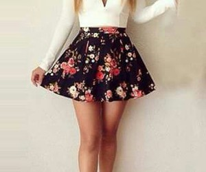 fashion, flowers, and pretty image