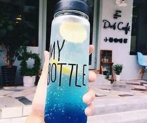 bottle, my bottle, and blue image