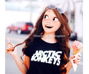 arctic monkeys, disney, and rapunzel image