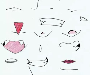 mouth, cool, and drawing image