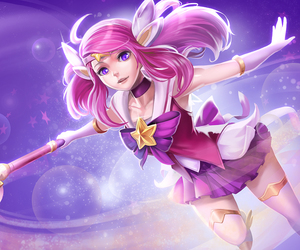 league of legends, lux, and game image