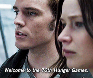 the hunger games, katniss everdeen, and finnick odair image