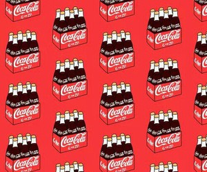 wallpaper, background, and coca cola image