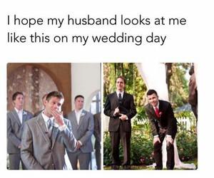 wedding and husband image