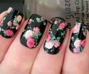 nails and flower nails image