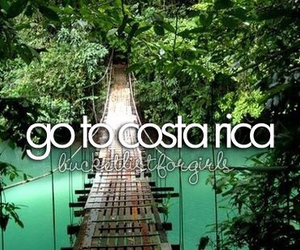 costa rica, travel, and Dream image