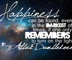 happiness, dumbledore, and harry potter image