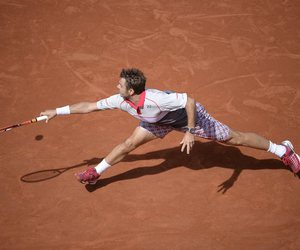 tennis and stan wawrinka image