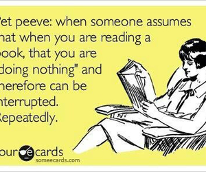 book, reading, and pet peeve image