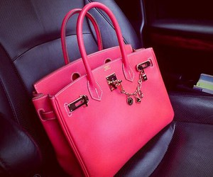pink, bag, and hermes image