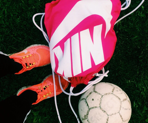 football, nike, and shoes image