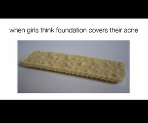 funny, Foundation, and girls image