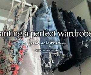 wardrobe, clothes, and justgirlythings image