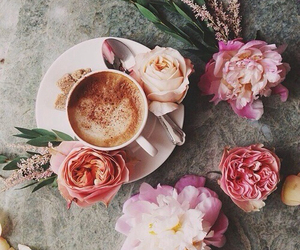cappuccino, mood, and coffee image