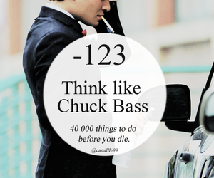 chair, chuck bass, and gossip girl image