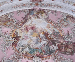art, pink, and architecture image