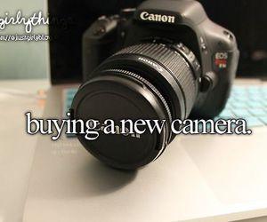 camera, just girly things, and justgirlythings image