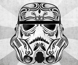 star wars and skull image