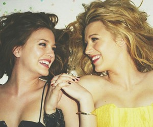 best friends, blair waldorf, and blake lively image