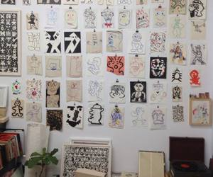 art, room, and draw image