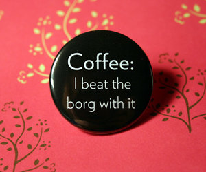 badge, coffee, and etsy image