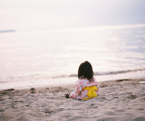 beach, summer, and contax image