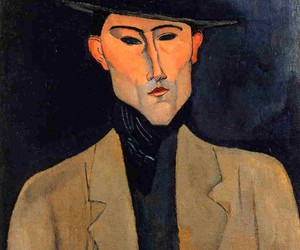 art, paint, and modigliani image