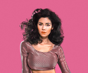 marina and the diamonds, pink, and Queen image