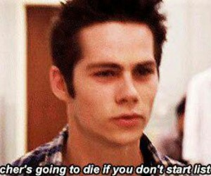 dylan, o'brien, and teen wolf image
