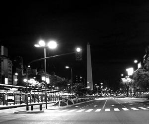 argentina, black and white, and buenos aires image