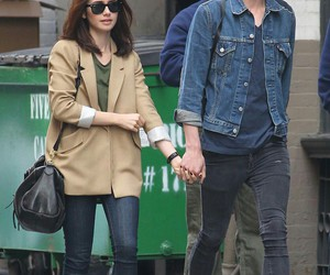 outfits, couple, and Jamie Campbell Bower image