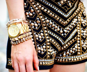 bracelets, jewelry, and outfit image