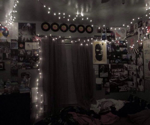 bedroom, grunge, and music image