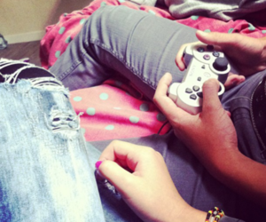 couple, play, and love image