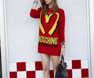 Moschino, fashion, and outfit image