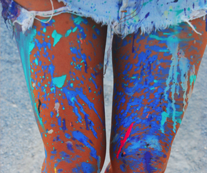 blue, colour, and fun image