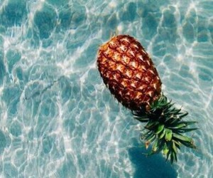 wather, pineapple, and style image