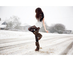 clothes, snow, and winter image