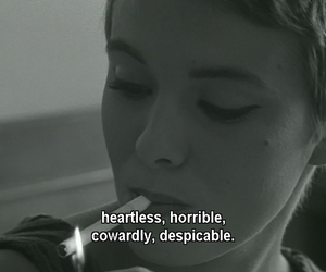quotes, black and white, and heartless image