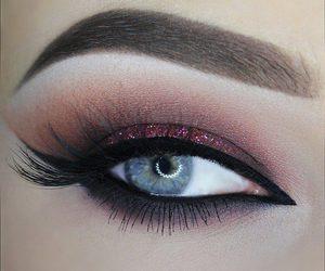 eyes, beauty, and fashion image