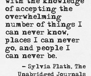 quote, sylvia plath, and travel image