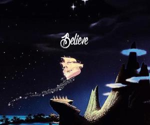 believe, peter pan, and disney image