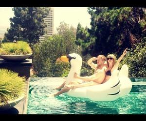 Taylor Swift, calvin harris, and summer image