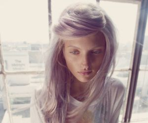 pink and platinum blonde image